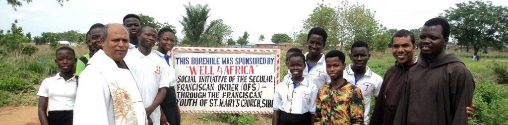 Blessing in Sibi, Ghana