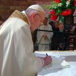 "OFS Minister General Joins Pope for Signing of Encyclical, ""Fratelli Tutti"""